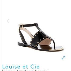 Louise et Cie Sandals in Black Size 7.5
